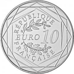 France 2016. 10 euro. football