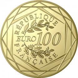 France 2016. 100 euro. football