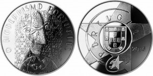 Portugal 2016 2.5 euro Modernism