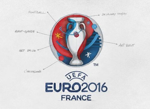 uefa 2016 LOGO