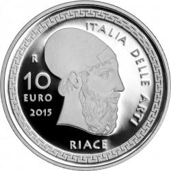 10 euro. Italy 2015. Riace