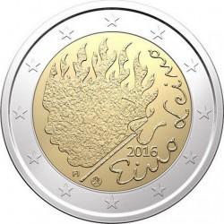 2 euro Finland 2016 Eino Leino