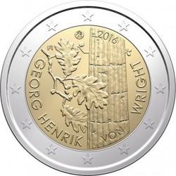 2 euro Finland 2016 Georg Henrik von Wright