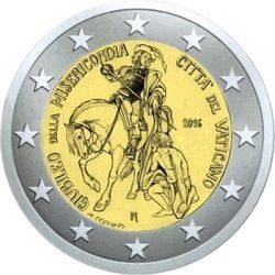 2 euro vatican 2016 svytoy god