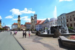 Banská Bystrica's main square