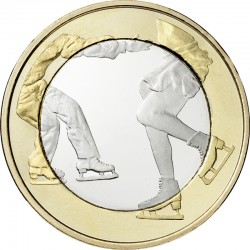Finland 2015. 5 euro. Figure skating