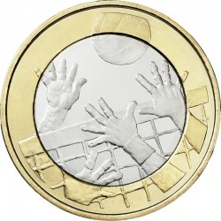 Finland 2015. 5 euro. Volleyball