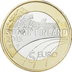 Finland 2015. 5 euro. sport