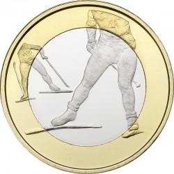 Finland 2016. 5 euro. Skiing