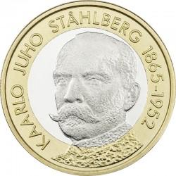 Finland 2016. 5 euro. Kaarlo Juho Ståhlberg