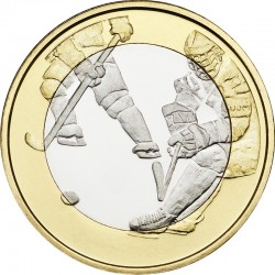 Finland 2016. 5 euro. hockey
