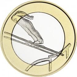 Finland 2016. 5 euro. ski jumping