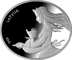 Latvia 2016. 5 euro. Eza kazocins