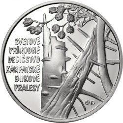 Slovakia 2015. 10 euro. Karpatske pralesy