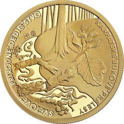 Slovakia 2015. 100 euro. Karpatske pralesy