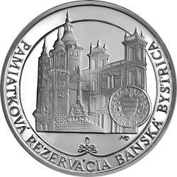Slovakia 2016. 20 euro. Historical Preservation Area of Banská Bystrica
