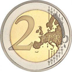 2 евро, реверс