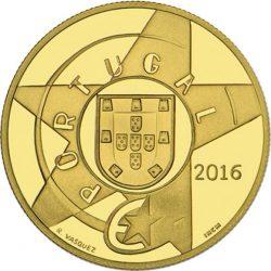Portugal 2016. 5 euro. Modernismo. Au 999