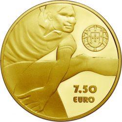Portugal 2016. 7.5 euro. Eusebio (Au 999)