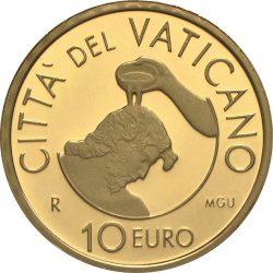 10 евро 2014 года, реверс