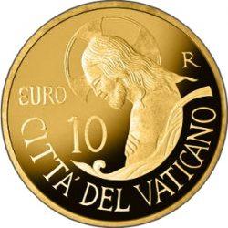 10 евро 2016 года, реверс