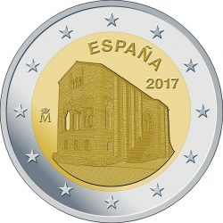 2 euro. Spain 2017