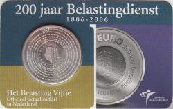 5 euro. Netherland 2006. belastingdienst
