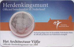 5 euro. Netherland 2008. Architecture