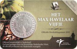 5 euro. Netherland 2010. Max Havelaar