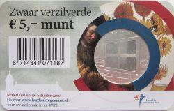 5 euro. Netherland 2011. Painting