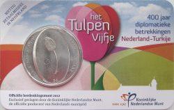 5 euro Netherland 2012 Tulipa obv