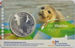 5 euro. Netherland 2016. Waddenzee