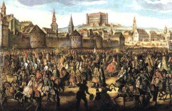 Коронация Марии Тетезии в Братиславе