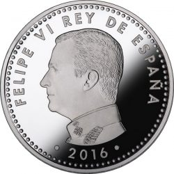 Spain 2016. 10 euro. Cervantes