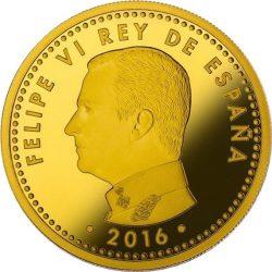 Spain 2016. 200 euro. Cervantes