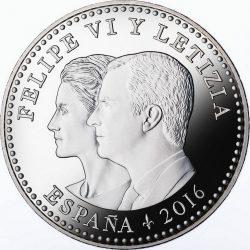 Spain 2016. 30 euro. Cervantes