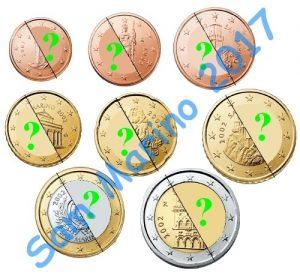 san marino euro coins 2017+