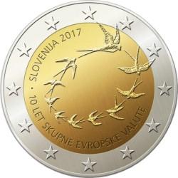 2 euro slovania 2017