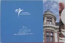 5 euro Netherland 2011 Mint brochure2
