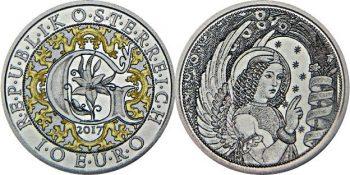 10 евро «Архангел Гавриил - ангел силы Божьей»