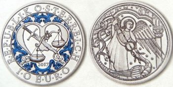 10 евро «Архангел Михаил - ангел-хранитель»