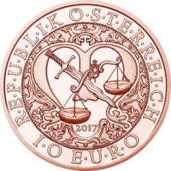 Austria 2017. 10 euro. Michael. Cu