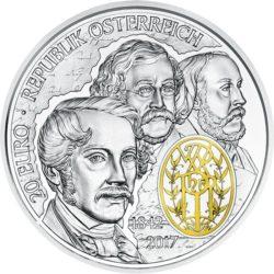 Austria 2017. 20 euro. wiener philharmoniker