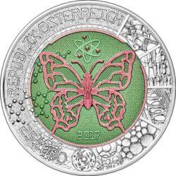 Austria 2017. 25 euro. Mikrokosmos