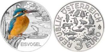 3 евро «Зимородок»