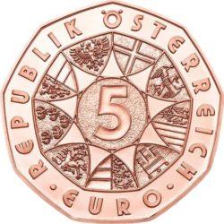 Austria 2017. 5 euro. Osterlamm Cu