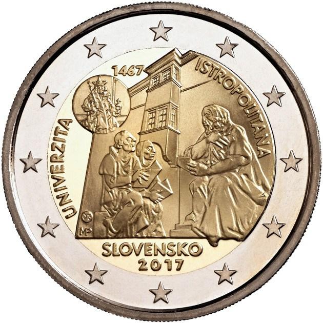 План выпуска монет 2 евро 2017 год монета тихвин цена