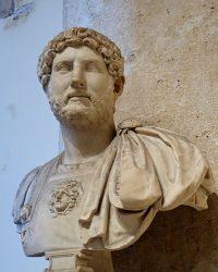 Bust Hadrian Musei Capitolini