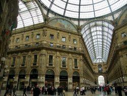 Galleria Vittorio Emanuele II Milan Interior