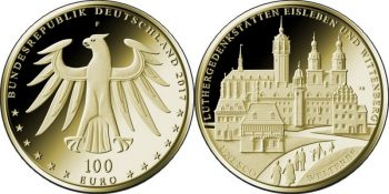 Germany 2017 100 euro UNESCO